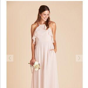 jules birdy grey bridesmaid dress